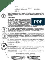 RESOLUCION DE ALCALDIA 061-2010/MDSA