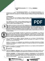 RESOLUCION DE ALCALDIA 195-2009/MDSA
