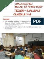 Şcoala Altfel 6.04.2015