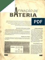 Afinação Da Bateria