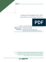 Avaliação Nutrológica Pré e Pós Cirurgia Bariátrica