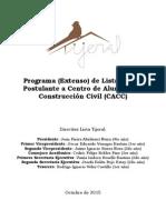 Programa en Extenso CACC - Lista Tijeral