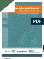 Encuesta Nacional Factores Riesgo 2011 Argentina