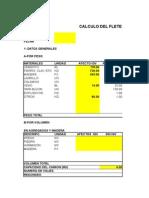Formato de calculo de Flete