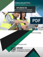 Diplomado en Gerencia de Proyectos, Planeación, Programación y Control de Obra