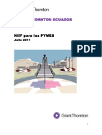 Guia Rapida de Niif Para Las Pymes y Diferencias Con Niif Full