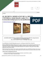 EL SECRETO, MEDITACION de LA MENTE UNIVERSAL, Kelly Howell [ Audio CD ] – Haz Que La Ley de La Atracción Trabaje Para Ti, Con Meditaciones Guiadas