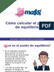 cmocalcularelpuntodeequilibrio-120305180022-phpapp02