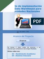 Implementacion de Datawarehouse