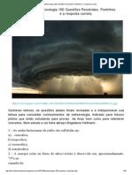 Meteorologia 160 Questões Resolvidas. Pontinhos é a Resposta Correta