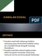 KAWALAN SOSIAL