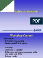 Leadership Presentation Revised