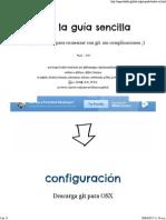 Git - La Guía Sencilla