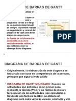 Diagrama Gantt, Pert,