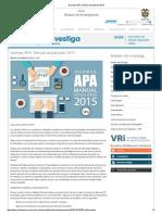 Normas APA_ Manual Actualizado 2015