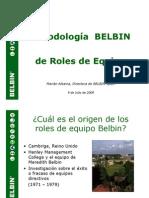 Metodología BELBIN de Roles de Equipo