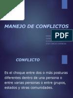 manejo de conflictos