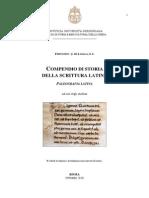 Compendio di storia della scrittura latina