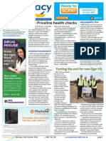 Pharmacy Daily for Thu 15 Oct 2015 - Priceline health checks, Codeine, The Pharmacy Guild, Homeopathy Plus busted, Ego Pharmaceuticals AMPERSAND much more