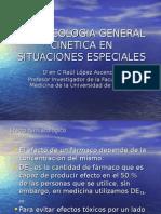 Farmacologia General Cinetica en Situaciones Especiales