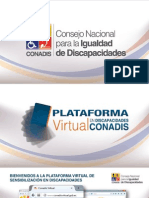 Manual de Instruciones Curso Virtual Conadis