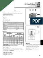 Valvulas Solenoide para diesel