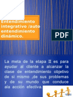 Entendimiento integrativo