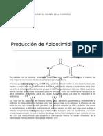 Producción de AZT