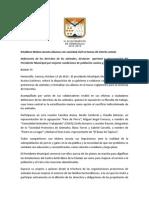 13-10-15 Establece Maloro Acosta Alianzas Con Sociedad Civil en Temas de Interés Común