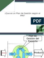 Plan de Gestión Según PMI