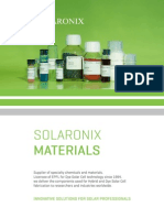 Solaronix Materials