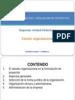 7. Estudio organizacional