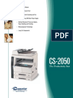 CS 2050 SpecSheet