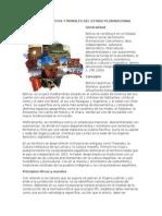 Principios Éticos y Morales Del Estado Plurinacional de Bolivia
