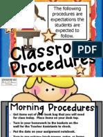 proceduresintheclassroom
