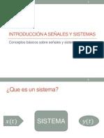 Introducción a Señales y Sistemas