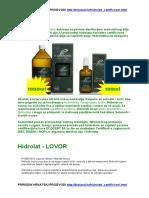 PRIRODNI HRVATSKI PROIZVODI Http://Bioland.hr/Hidrolati_certificirani.html
