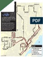 Peoria Marathon route