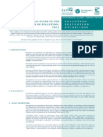 PPG01 General Guide to the Prevention of Water Pollution