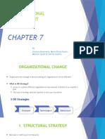 Organisational Development Ppt