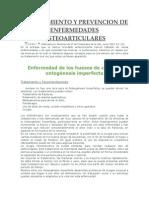 Tratamiento y Prevencion de Enfermedades Osteoarticulares