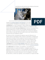 Conceptos y  Diferencias Entre Las Infecciones Endémicas