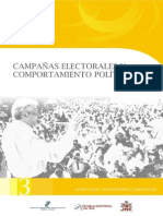 3 - Campañas Electorales y Comportamiento Politico