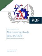 Proyección de poblacion del Municipio de La PAZ