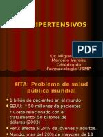 Farmacología - Antihipertensivos