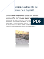 Una experiencia docente de Preescolar en Nayarit.pdf