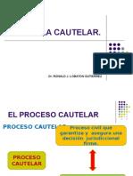SESION - EL PROCESO CAUTELAR.ppt