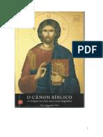 o Cânon Bíblico