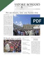 L´OSSERVATORE ROMANO - 09 Octubre 2015