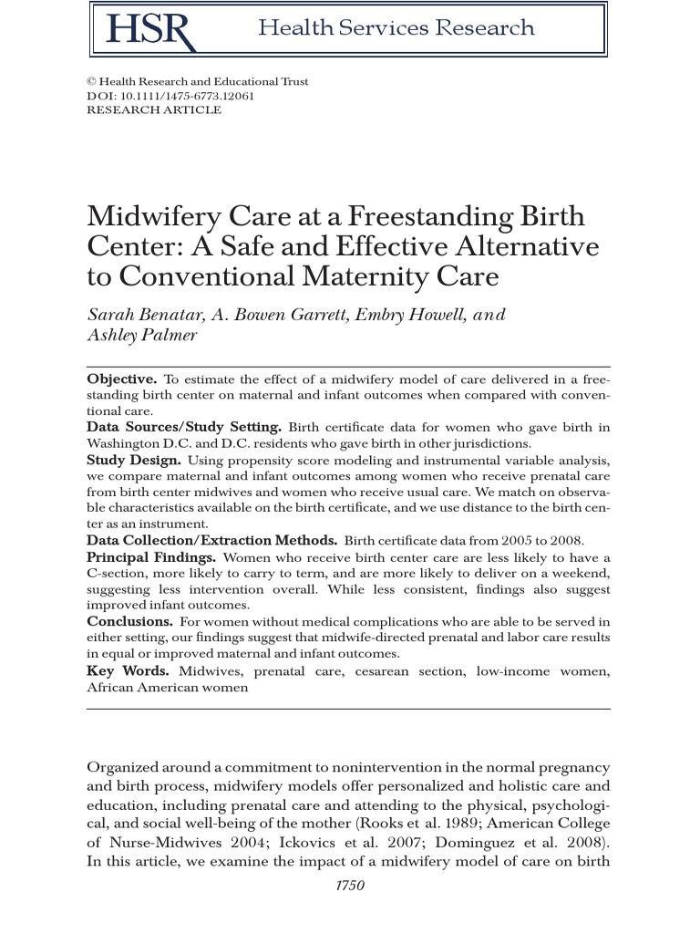Journal Caesarean Section Childbirth